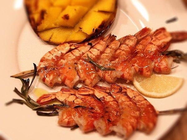 Креветки гриль рецепт фото