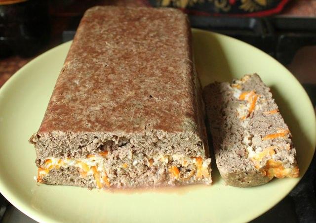 Пирог из печенки рецепт с фото
